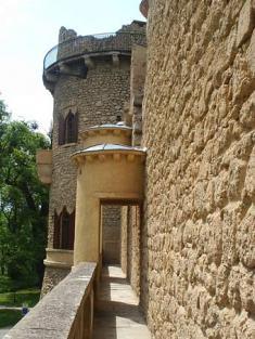 Janův hrad - ochoz