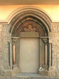 Portál kostela Sv.Petra aPavla
